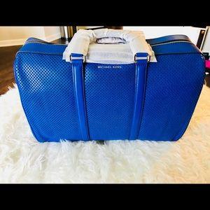 3f2fae1586fac9 Michael Kors Bags - MICHAEL Michael Kors Libby Large Leather Gym Bag